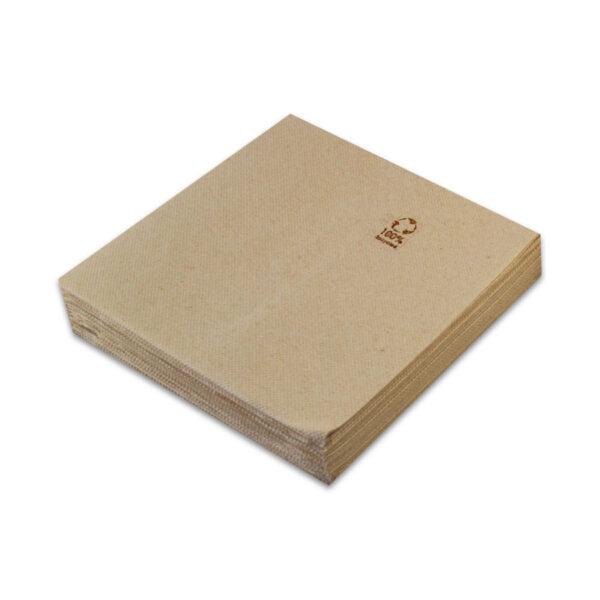 Servilleta punta punta papel reciclado