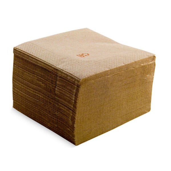 Servilleta lisa con cenefa papel reciclado