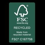 logo FSC reciclado